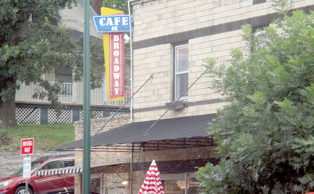Marc Hayot/Herald-Leader Cafe on Broadway is one of two Siloam Springs coffee shops chosen to be on the Main Street Arkansas Coffee Trail. This will be the state's first coffee trail, said Hannah Ratzlaff, exterior design consultant for Main Street Arkansas. The goal is to feature at least 43 coffee shops on the trail the first year, she said. The official launch of the trail will be Sept. 29.